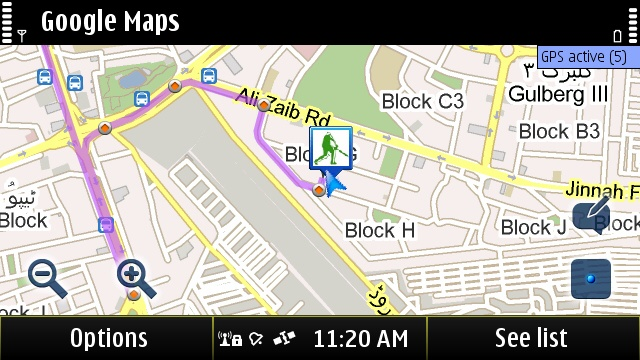 nokia-dx: Google Maps 4.1.1 - S^3 - Anna - Belle - Nokia N8 - Free on