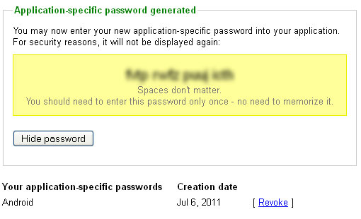 how to see old saved google passwords