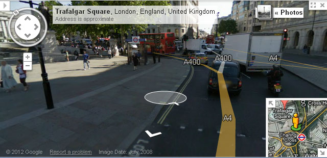 google street view london