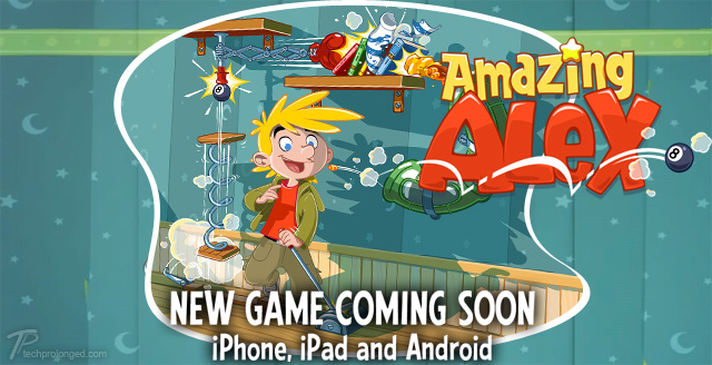 The Amazing Alex, The New Game from Rovio, Come The Month That Comes