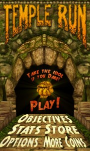 Temple Run on Windows Phone 8 Nokia Lumia 920
