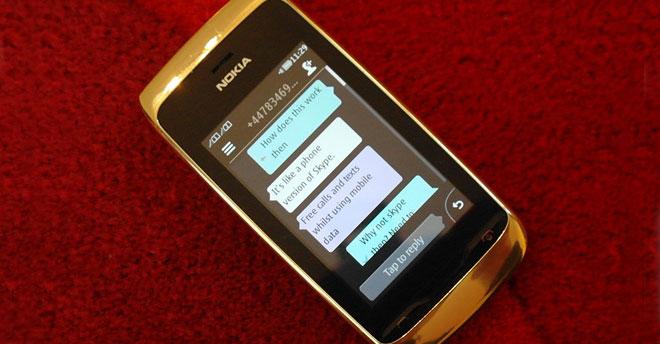 Whatsapp for nokia asha mobile phones.