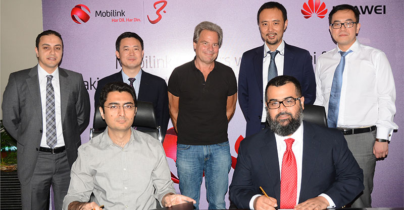 mobilink-huawei-100gbps-optical-network