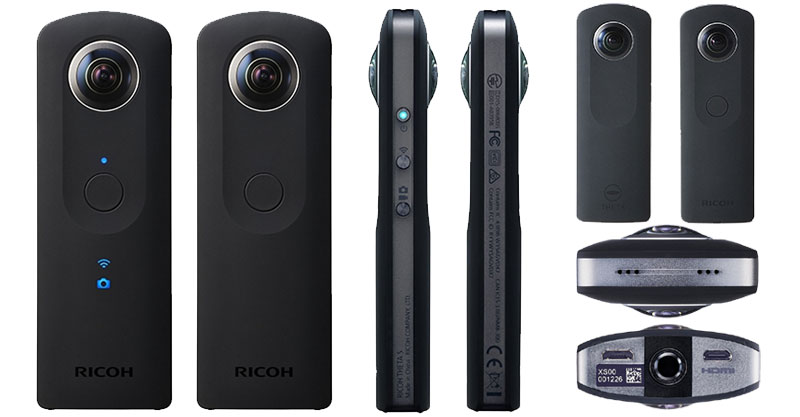 "Theta S"" Camera shoots & shares 360-degree photos on Google Maps ...: techprolonged.com/2015/09/ricoh-theta-s-spherical-portable-consumer..."