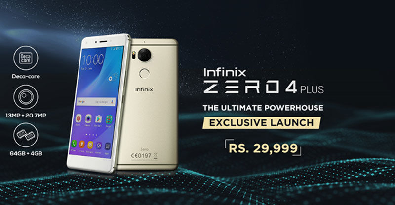 Infinix Zero 4 Plus Pakistan Price