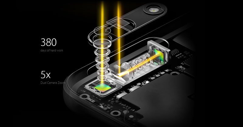 OPPO 5x Optical Zoom