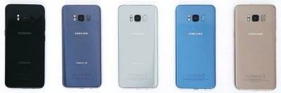 Galaxy S8 Colors - Rear