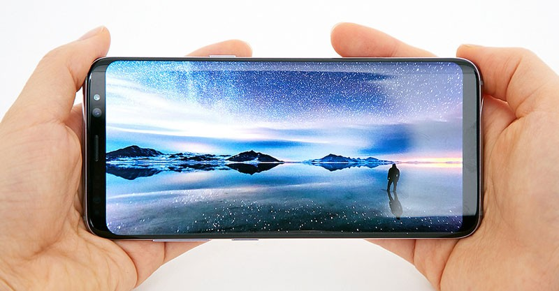 Galaxy S8 Infinity Display
