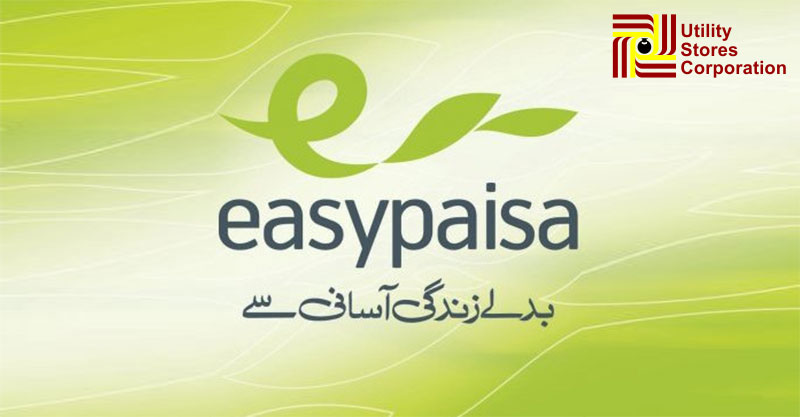 Easypaisa on Utility Stores