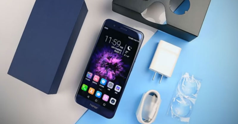 Honor 8 Pro Unboxing