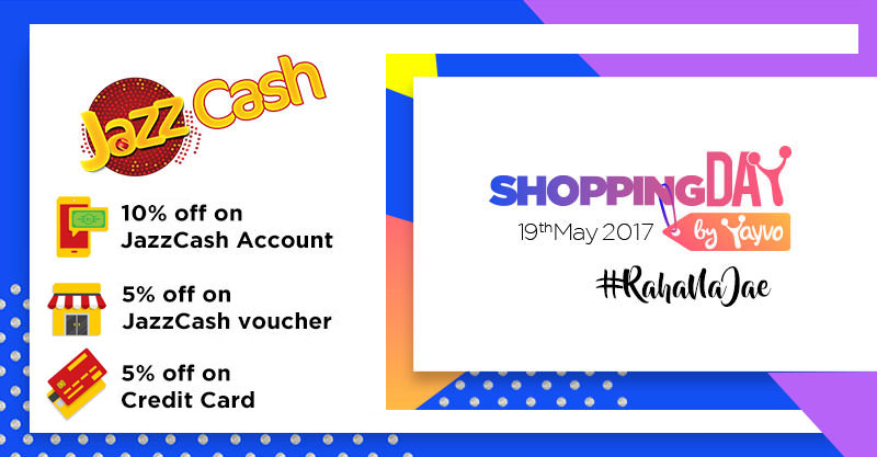 JazzCash Yayvo Shopping Day