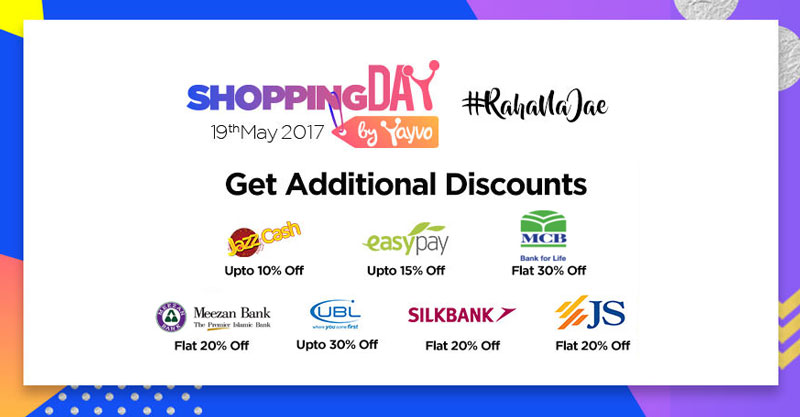 Yayvo Shopping Day Additional Discounts