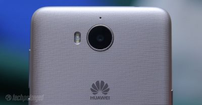 Huawei Y5 2017 Review - Rear Camera Closeup