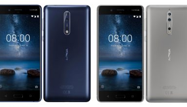 Nokia 8, Nokia 9 Blue/Steel