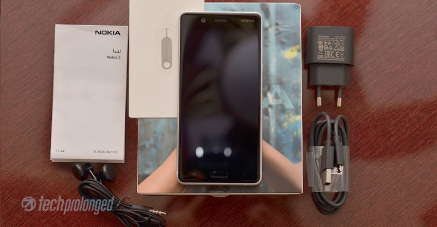 Nokia 5 Unboxing - Retail Box Content