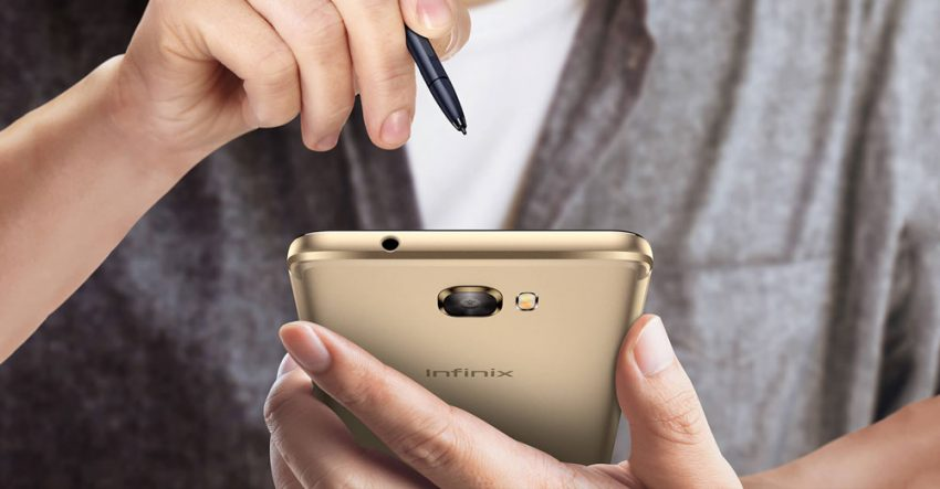 Infinix Note 4 Pro with XPen