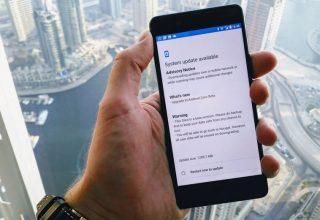 Nokia 8 running Android 8 Oreo