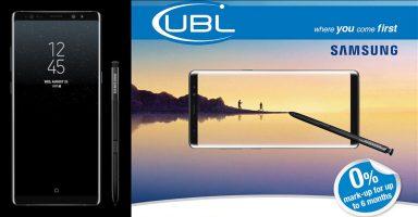 Galaxy Note 8 UBL Installments