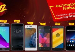 Jazz Smartphones on Installments Pakistan