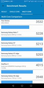 Mate 10 Lite Geekbench 4