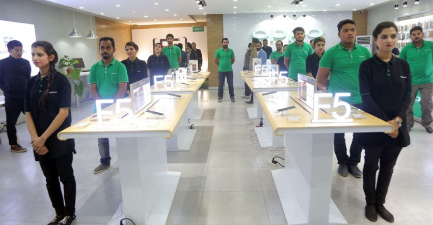 OPPO Brand Shop Lahore Fortress Stadium
