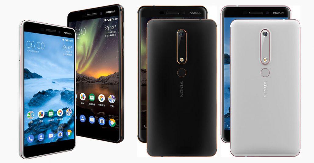 Nokia 6 2018 Feature
