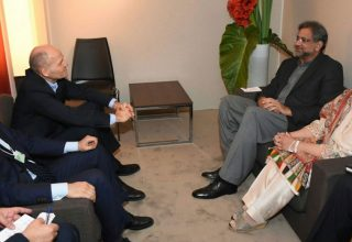 PM Pakistan Telenor Davos