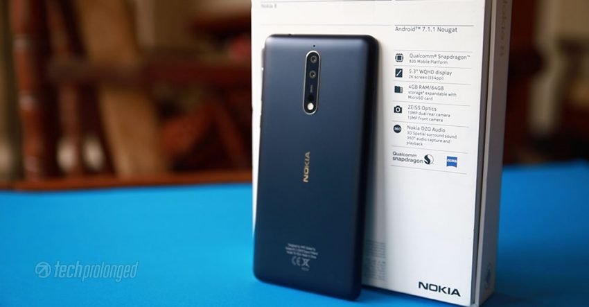 Nokia 8 Back Side Feature