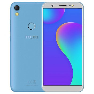 Tecno Camon I Color City Blue