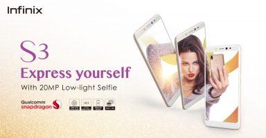 Infinix S3 Pakistan Launch Price