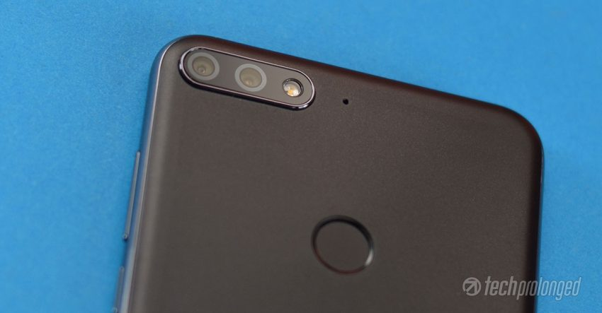 Huawei Y7 Prime 2018 Review rear camera
