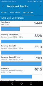 Huawei Y7 Prime 2018 Benchmark Geekbench 4