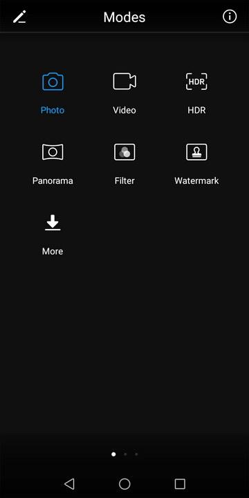 Huawei Y7 Prime 2018 Camera UI