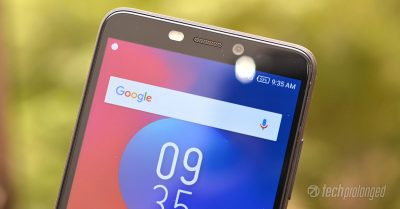 Infinix S3 Review Front camera soft led