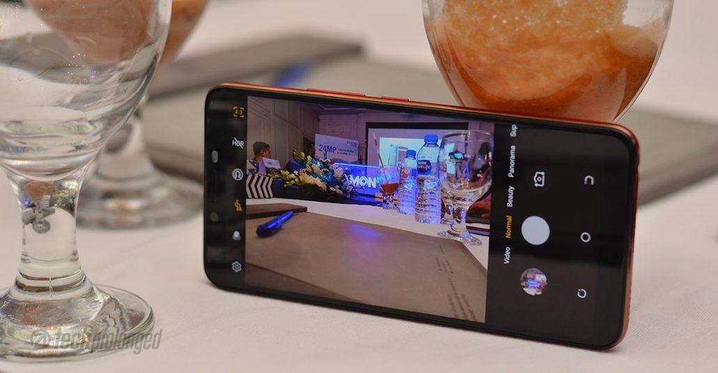 Camon X Pro Camera UI
