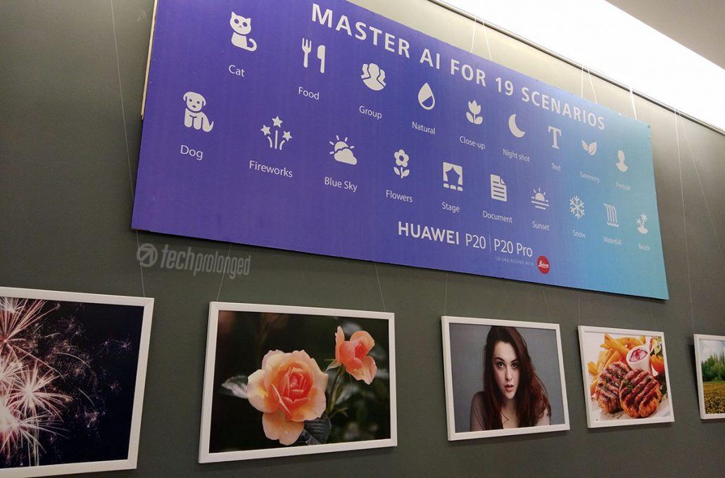 Huawei P20 Pro AI Scene Recognition