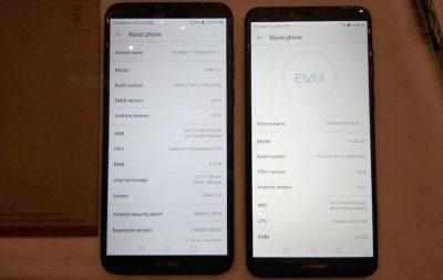 Huawei Y7 Prime 2018 - Y9 2018