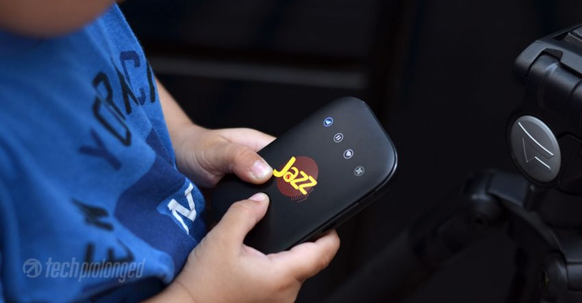Jazz Super 4G WiFi Compact Size