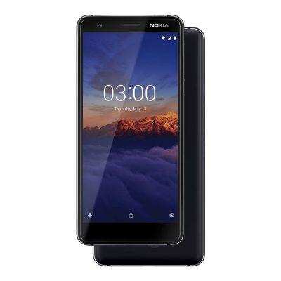 Nokia 3.1 Black/Chrome