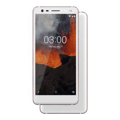 Nokia 3.1 White/Iron