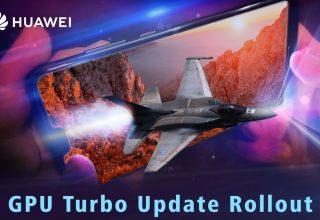 Huawei GPU Turbo Update