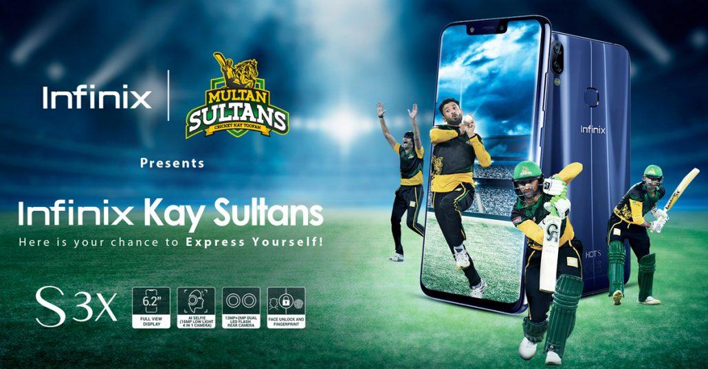 Infinix Key Sultans with Multan Sultans