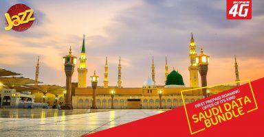 Jazz Saudi Bundle for Hajis 2018