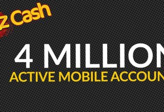 JazzCash Mobile Accounts 4 Million