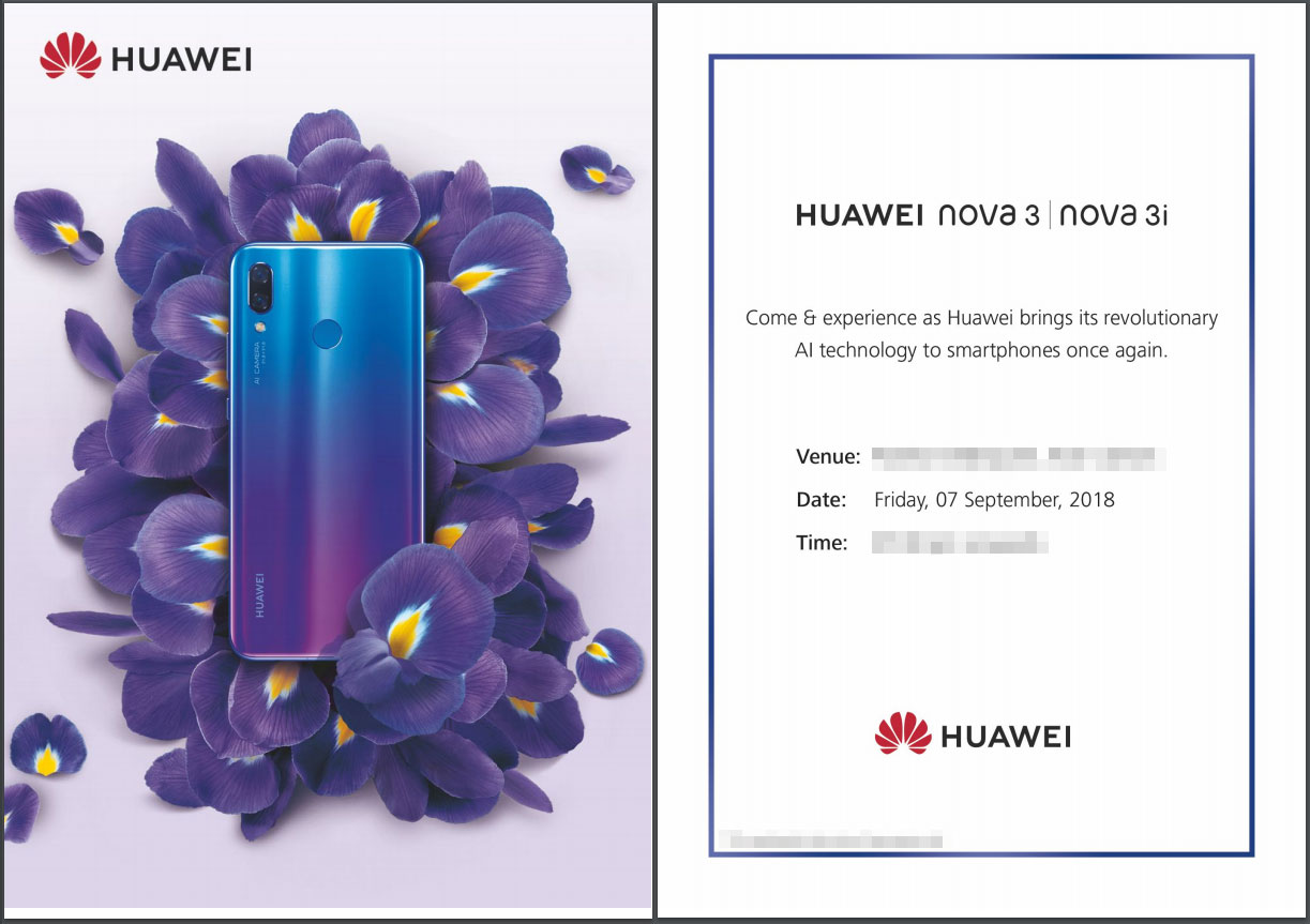 Huawei-Nova-3-3i-Pakistan-Launch-Invite %