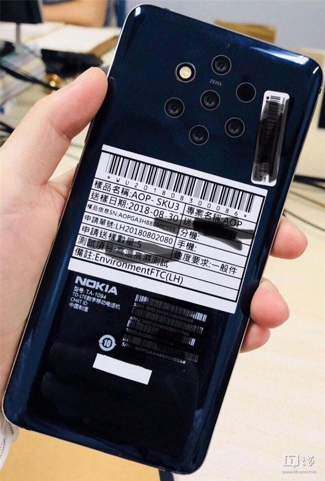Penta-Lens Smartphone Nokia 9