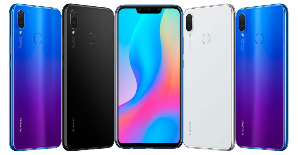 Huawei Nova 3i Feature Colors