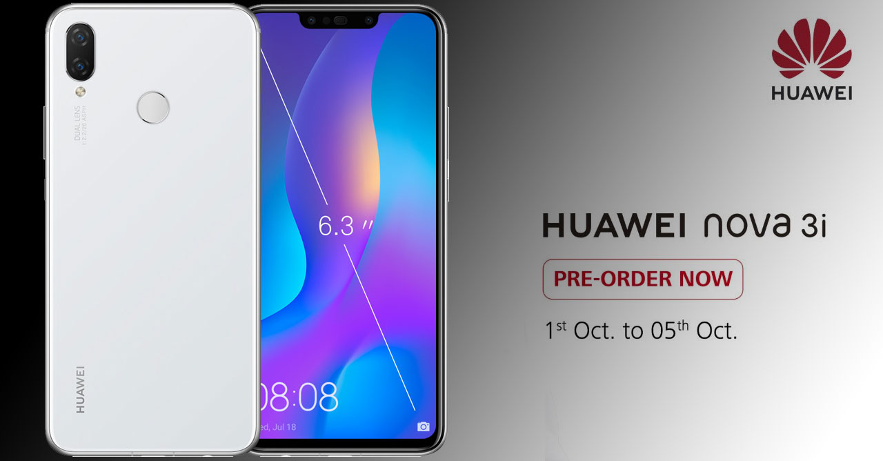 Huawei Nova 3i comes in a new Pearl White color - Available