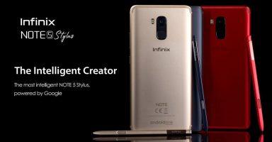 Infinix Note 5 Stylus Price Pakistan