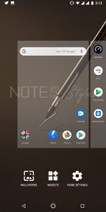 Infinix Note 5 Stylus Software UI